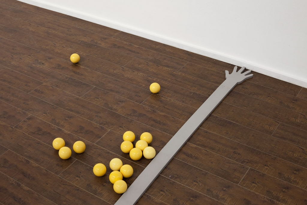 Vanessa Maltese: Installation views of The Compleat Gamester (2014). Images courtesy Cooper Cole, Toronto.