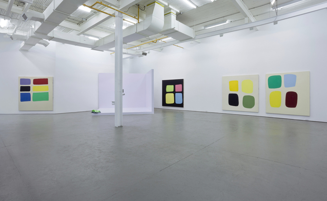 Jeanie Riddle: Installation view of Rough Diamonds, Gold Dust at galerie antoine ertaskiran. Images courtesy galerie antoine ertaskiran, Montreal.