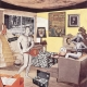 Richard Hamilton: Just what is it that makes today's homes so different, so appealing? (1956). Collage, 10.25 x 9.75 inches. Courtesy the Richard Hamilton Estate.