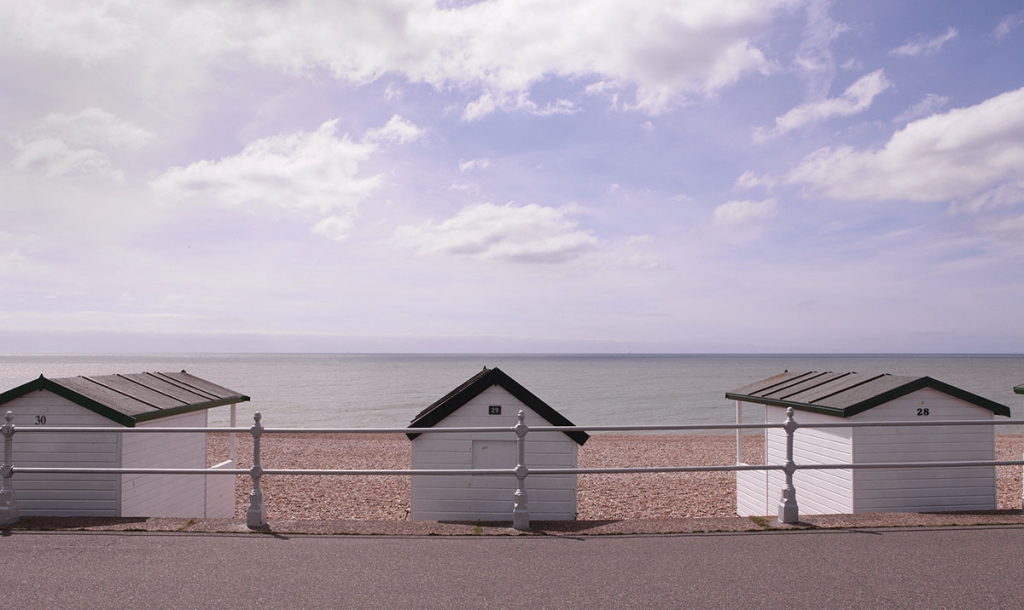 Emanuelle Léonard: still from Postcard from Bexhill-on-Sea, 2014, video.