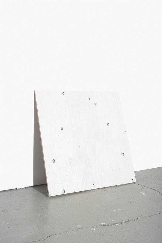 "Susana Reisman: 24""x1/4""x24"" Plywood (2013). Archival pigment print."
