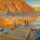 Arthur Lismer: Autumn, Bon Echo (1923). Oil on canvas. Collection of the Mendel Art Gallery. Gift of the Mendel family, 1965. All works from the Collection of the Mendel Art Gallery. All images courtesy the Mendel Art Gallery, Saskatoon.
