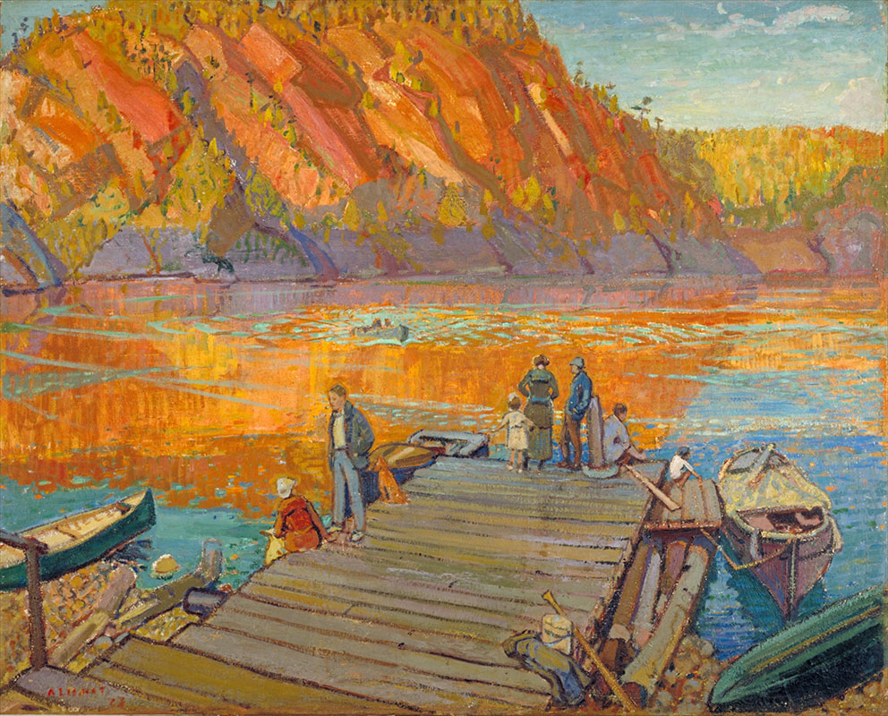 Arthur Lismer: Autumn, Bon Echo (1923). Oil on canvas. Collection of the Mendel Art Gallery. Gift of the Mendel family, 1965. All works from the Collection of the Mendel Art Gallery. All images courtesy the Mendel Art Gallery, Saskatoon.