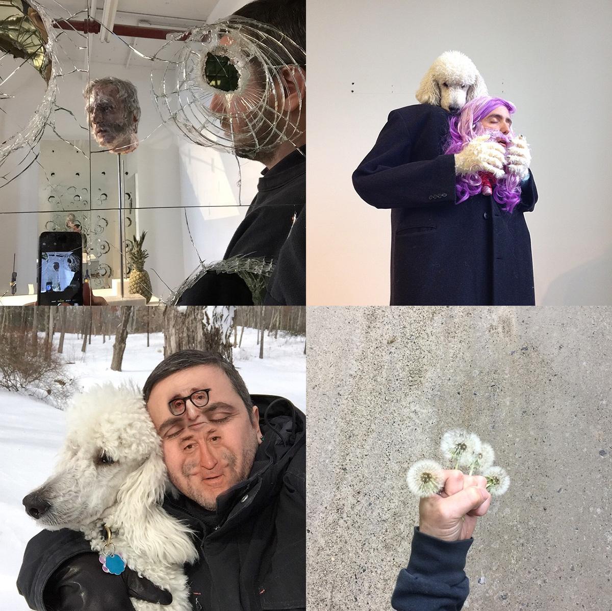 Altmejd's Instagram