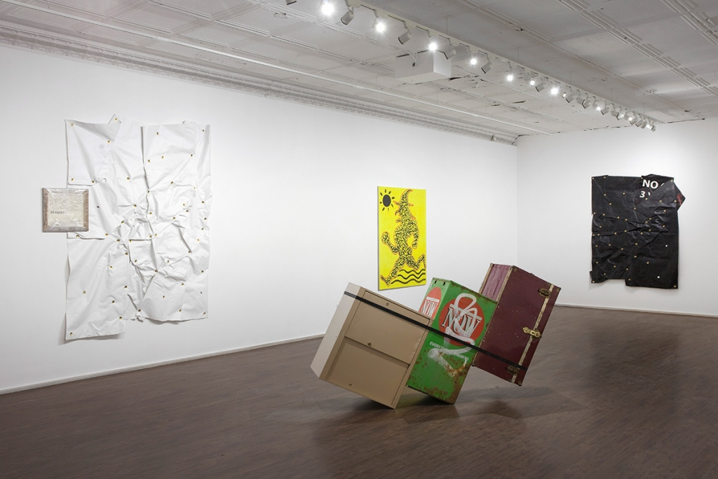 Joshua Abelow and Bjorn Copeland: Installation view at Cooper Cole Gallery, Toronto.