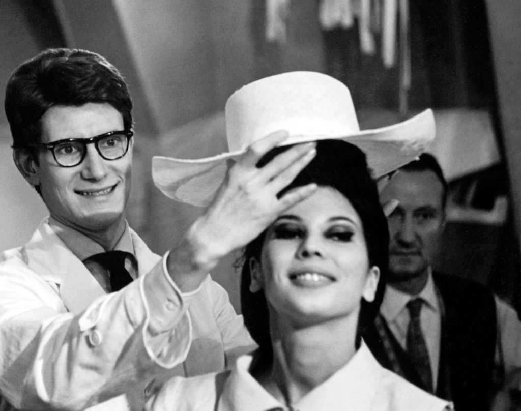 Yves Saint Laurent in a still from L'Amor Fou, directed by Pierre Thoretton, 2010.