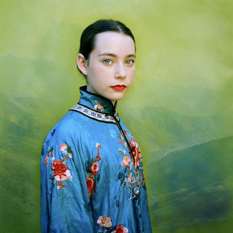 Lucy in Teal, from the series Revisiting Beauty