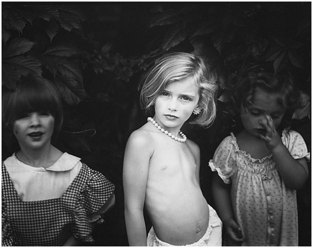 Sally Mann: Jessie at 5 (1989), from the series Immediate Family. Gelatin silver print.