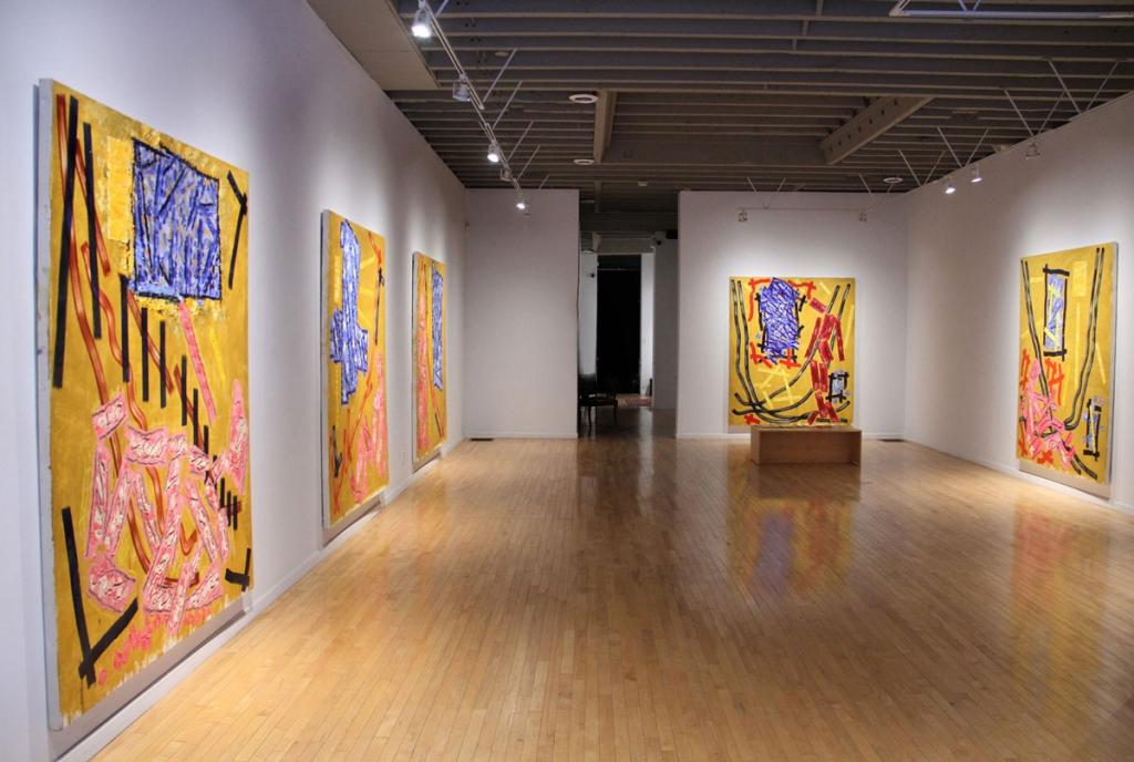 David Urban: Installation view. Courtesy Michael Gibson Gallery.