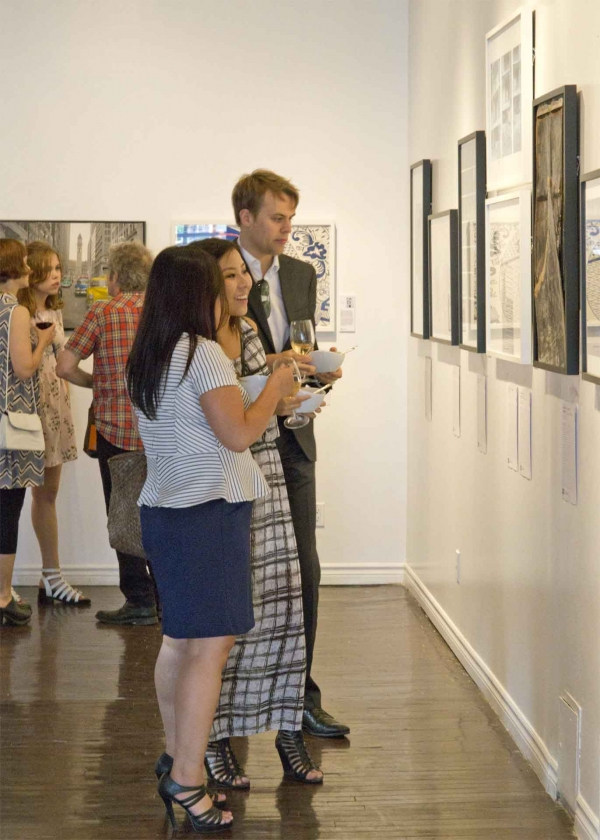 Flash Forward Incubator Opening & Silent Auction 2015