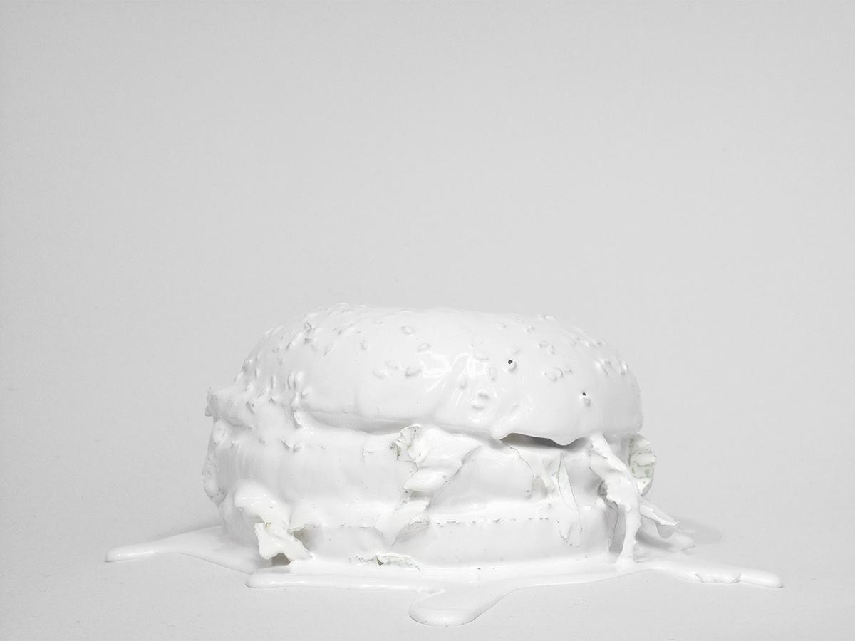 Hamburger, 2008 from the series Tint by Kotama Bouabane