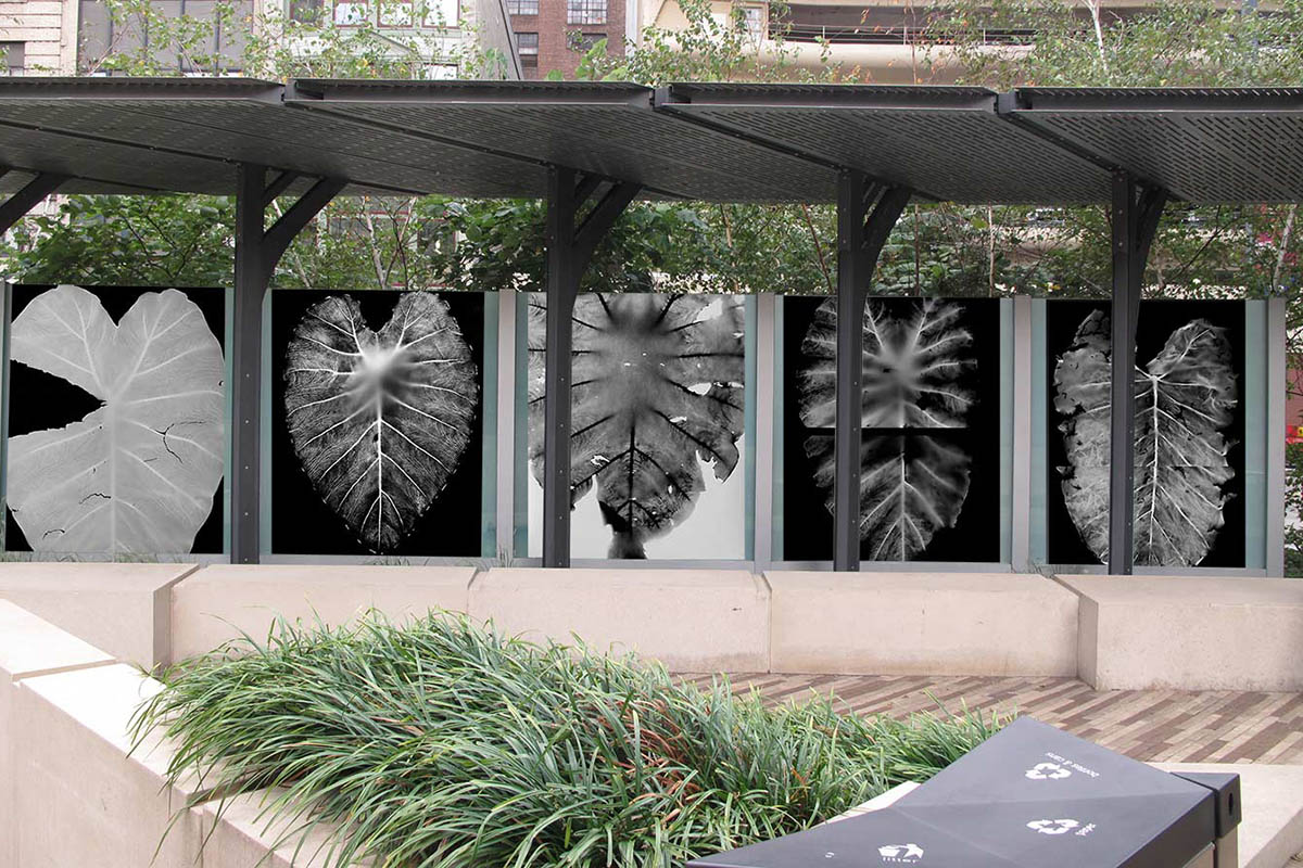 Work by Sue Abramson installed in Pittsburgh