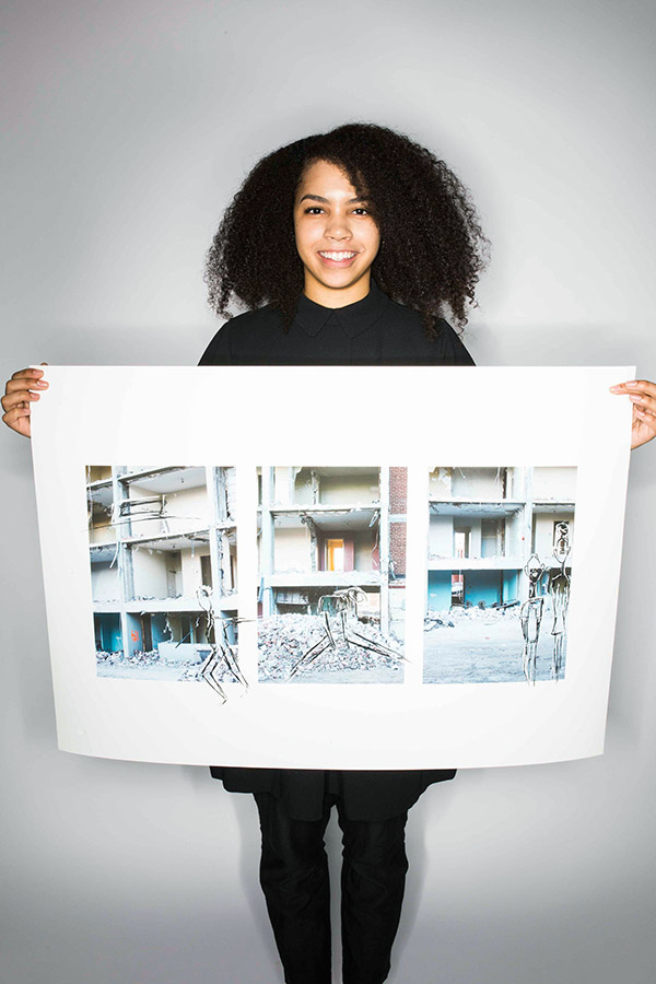 Regent Park, 2015 by Camille Duncan (Rosedale Heights School of the Arts)