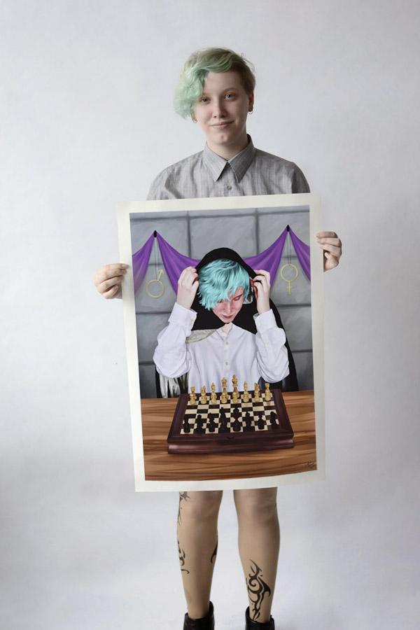 Work by Lesley Brown, Rosedale Heights School of the Arts