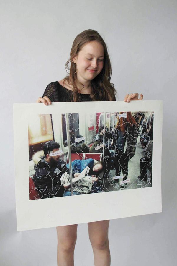 Lauren 2 by Maya Burns, Rosedale Heights School of the Arts