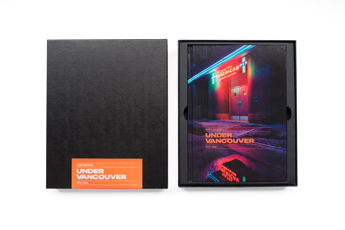 Under Vancouver by Greg Girard Special Edition Boxset