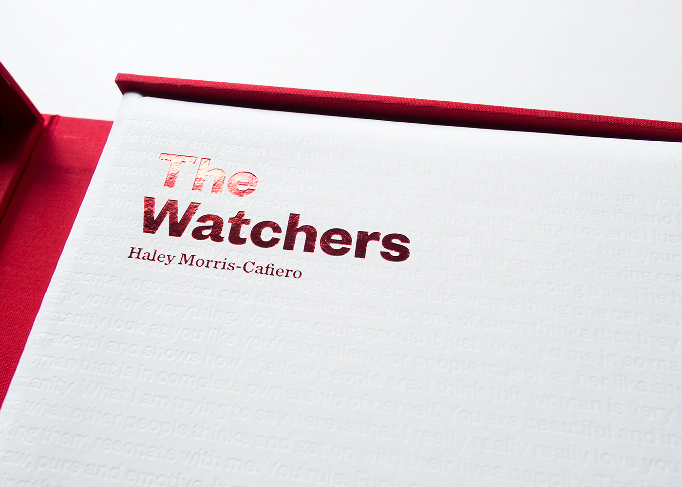 The Watchers by Haley Morris-Cafiero