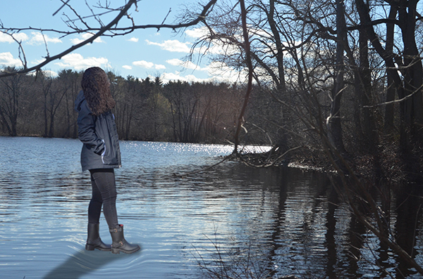 Walking on Water by Victoria Casado (Noble and Greenough School)