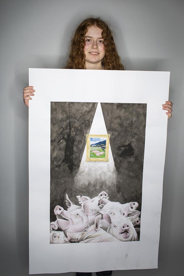 Blind Conscience by Sierra Dejesus-Joyner (Rosedale Heights School of the Arts)
