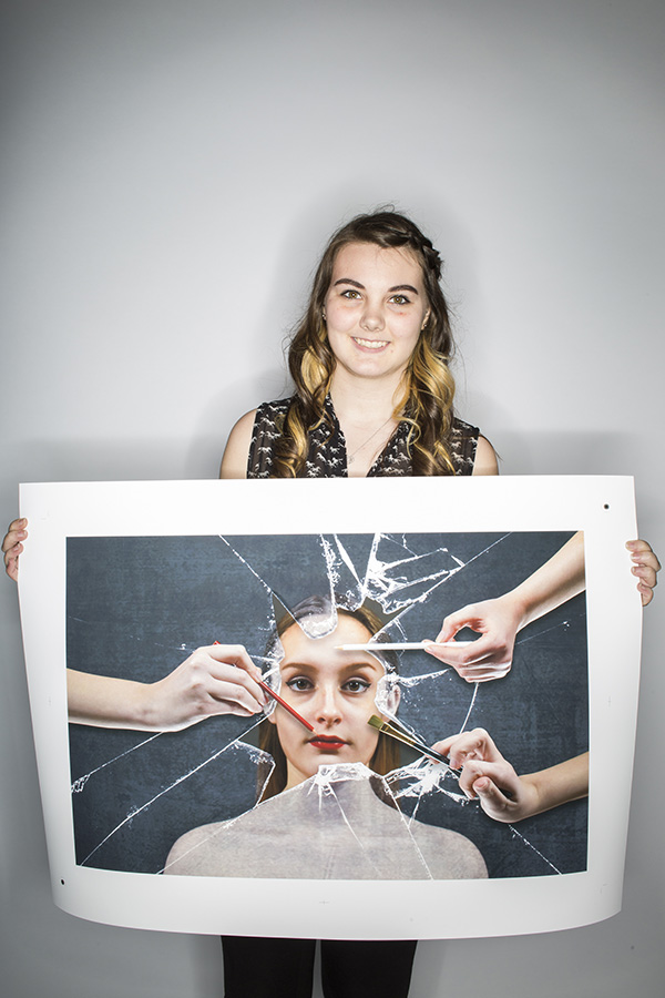 Break the Old, Create the New by Audrey Rose Arseneau (Sir John A Macdonald Secondary School)