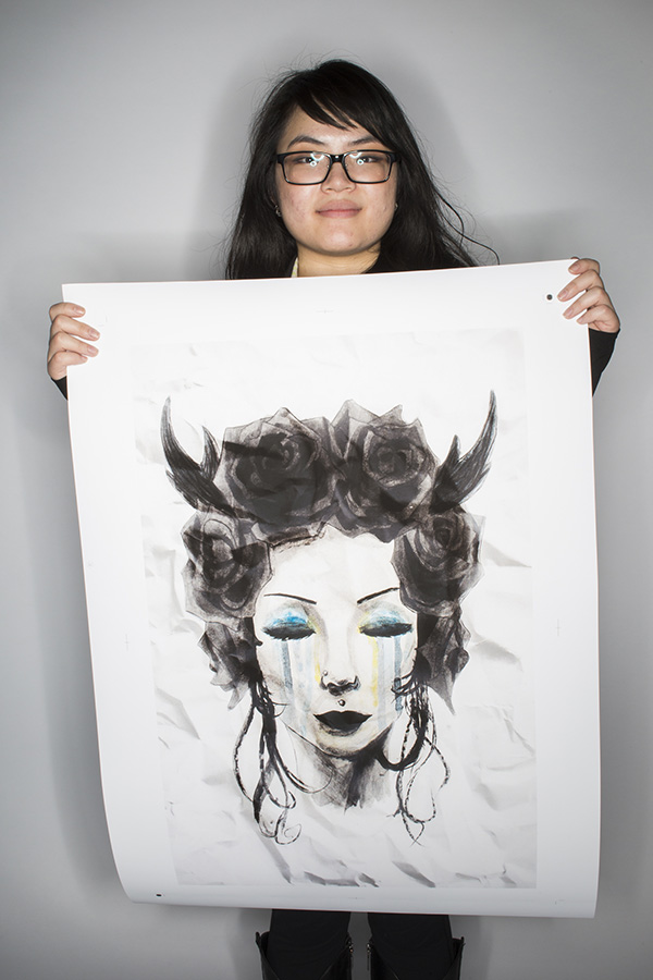 Wandering Soul by Amy Zhou (Sir John A Macdonald Secondary School)