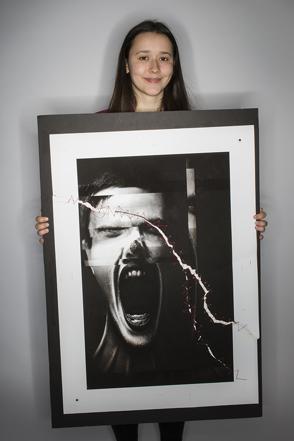 Silent Screams The Underlying Truth Behind Society's Makeup by Teya Stankovic (Sir John A Macdonald Secondary School)