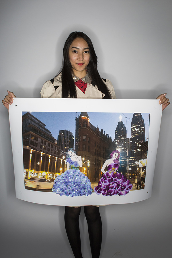 City Lights Fashion by Kate Villachua (John Polanyi Collegiate Institute)