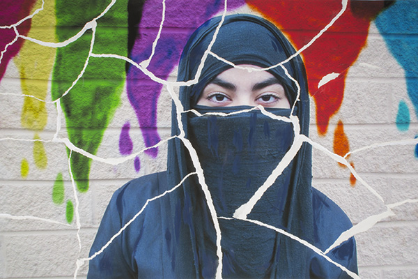 The Niqab by Heena Sharif (John Polanyi Collegiate Institute)