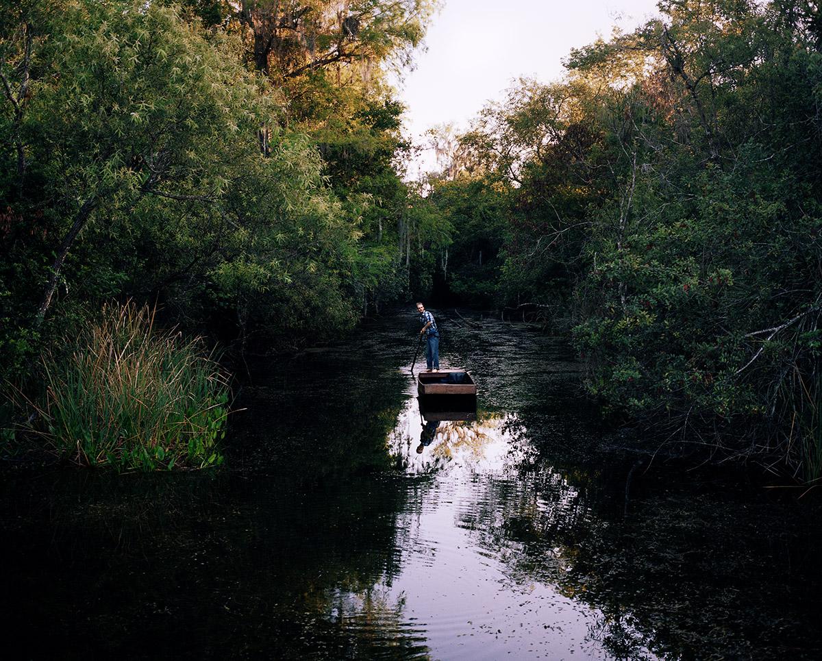 'Gladesman Pole Boat', Turner River, 2017