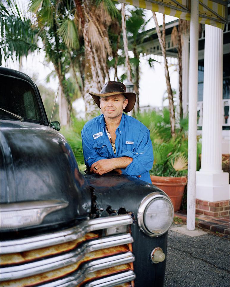 'James', Rod & Gun Club, Everglades City, 2017