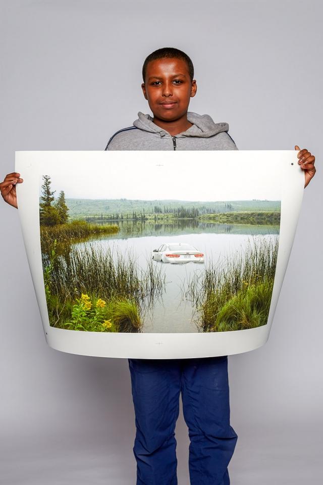 Ibrahim Omar, Shoot for Peace
