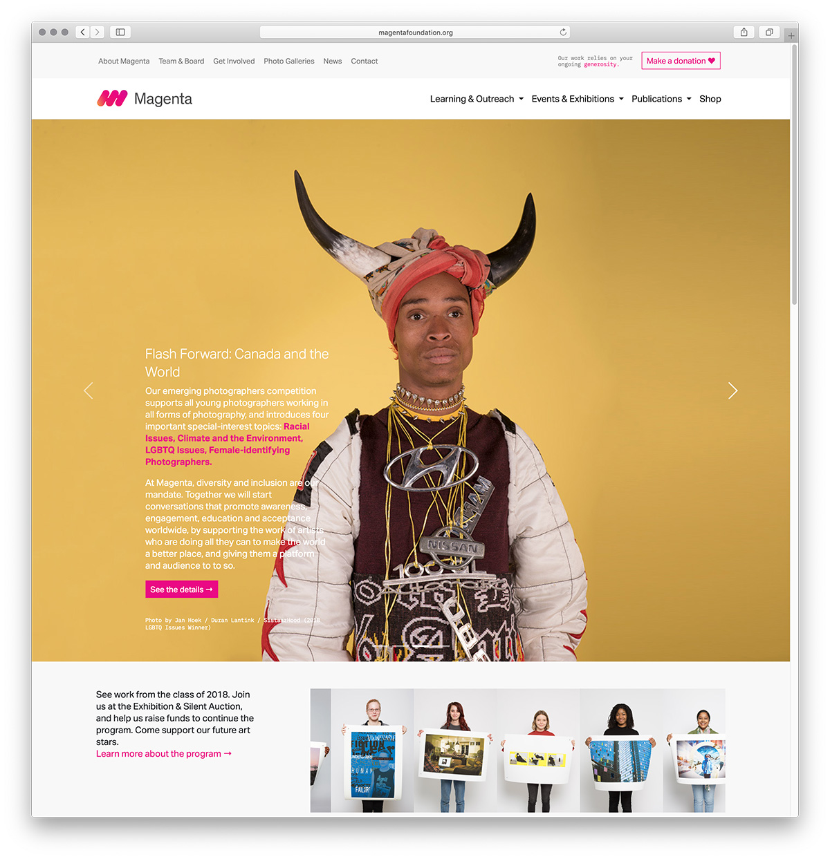 New Magenta Website