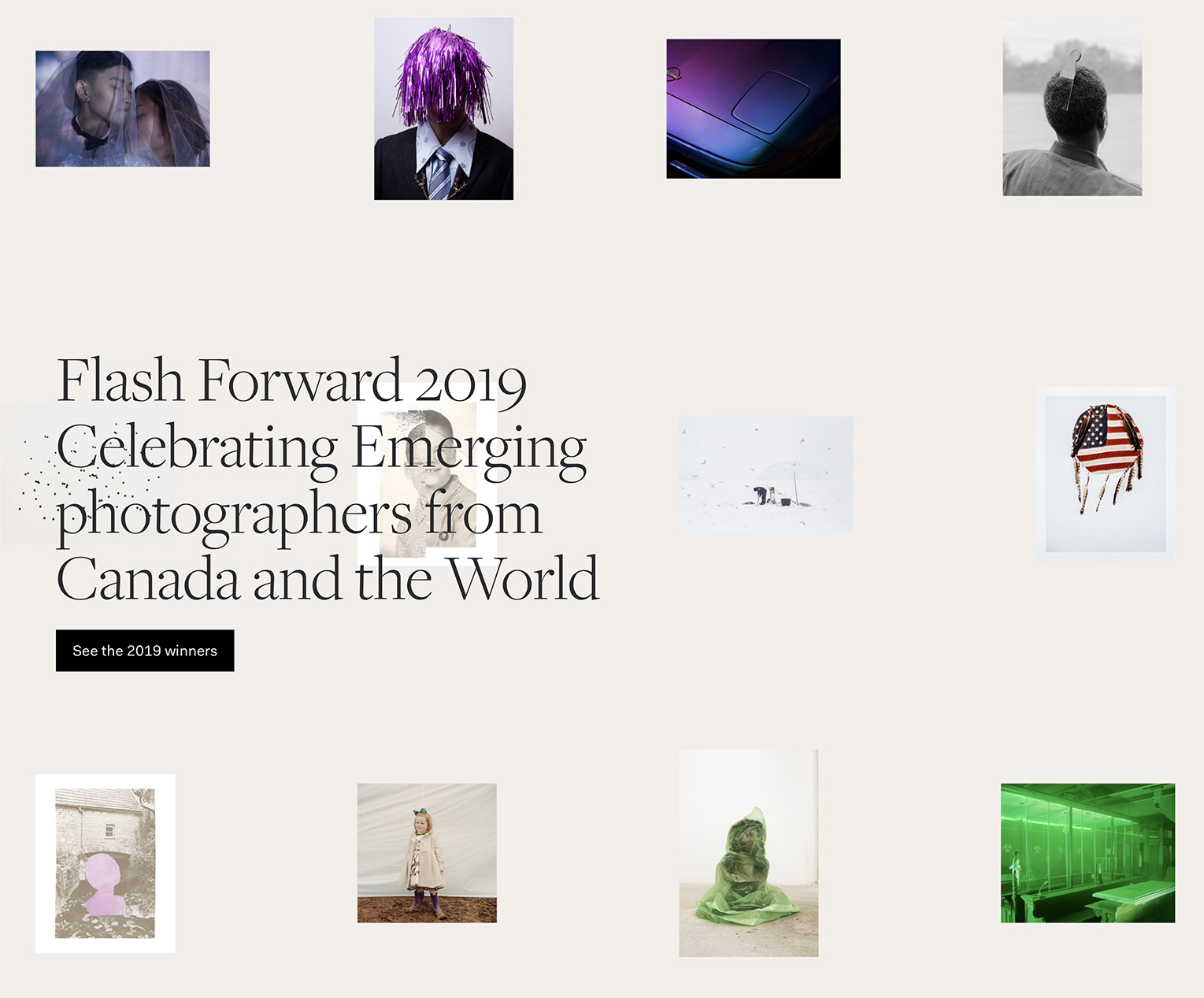 Flash Forward 2019 home page